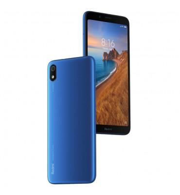 "Xiaomi Redmi 7A (16GB) 5.45"" Display, Dual SIM GSM Factory Unlocked (US + Global 4G LTE Model) (Matte Blue)"