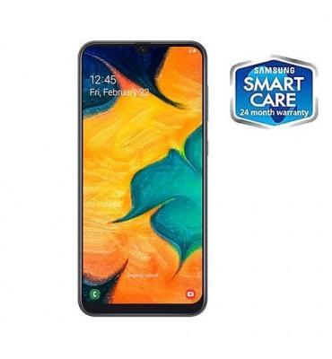 Samsung Galaxy A30 6.4-Inch (4GB RAM, 64GB ROM) Android 9.0 Pie, (16MP + 5MP) + 16MP 4G LTE Smartphone - preto
